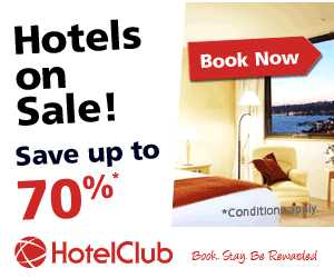 Save up to 70% - Hotels on Sale